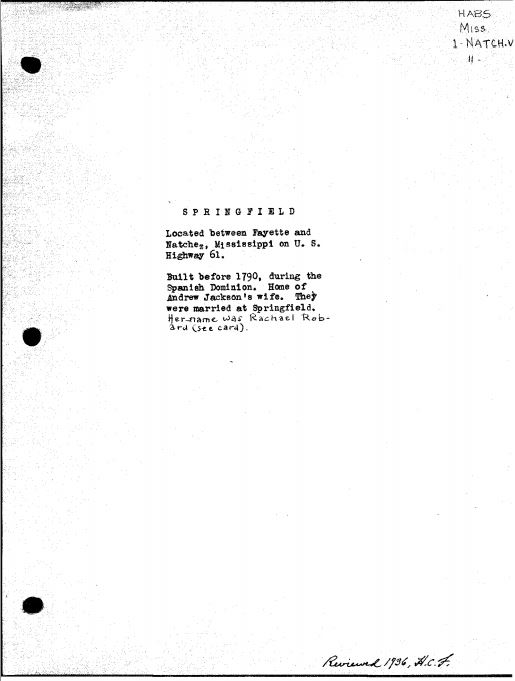 Springfield Data1
