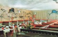 """DENNERY'S SEA FOOD HOUSE, Capacity 200. Famous for Sea Food from Coast to Coast. """"The Most Talked about Restaurant in Jackson"""" Guests invited to Visit our Glassed-in, Stainless Steel Kitchen. Ample Parking. Phone 354-2527. 740 East Silas Broad Street, Jackson, Mississippi."""