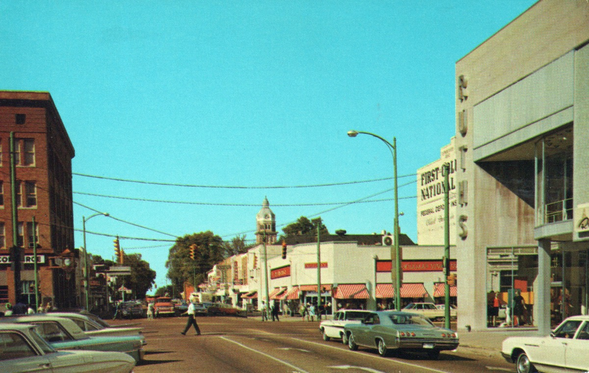 Mississippi Streets: 1960s Columbus