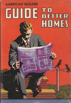 Cover, Guide To Better Homes. American Builder and Building Age. 1937