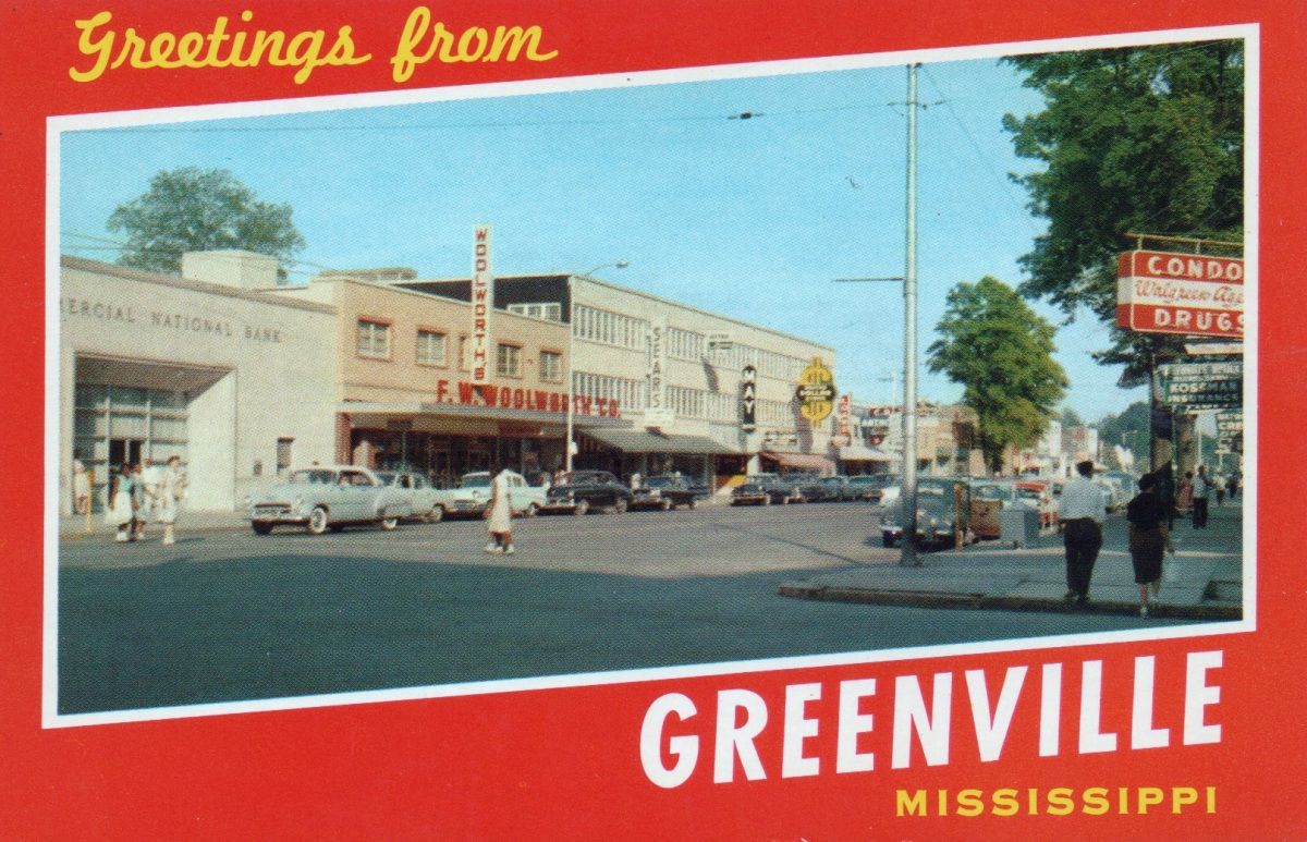 Mississippi Streets: 1950s Greenville