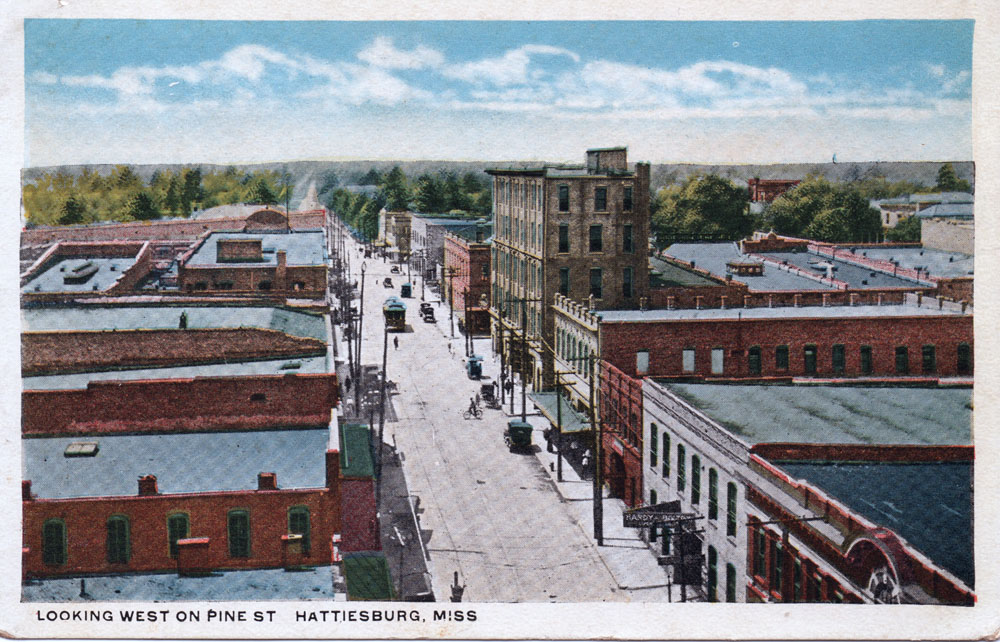 Mississippi Streets: 1920s Hattiesburg – Preservation in ...