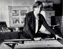 Katherine C. Budd In her madison ave. office ca. 1918. From The Exceptional One Women In American Architecture 1888-1988. image courtesy of Victoria Budd Opperman Collection, AIA Archives