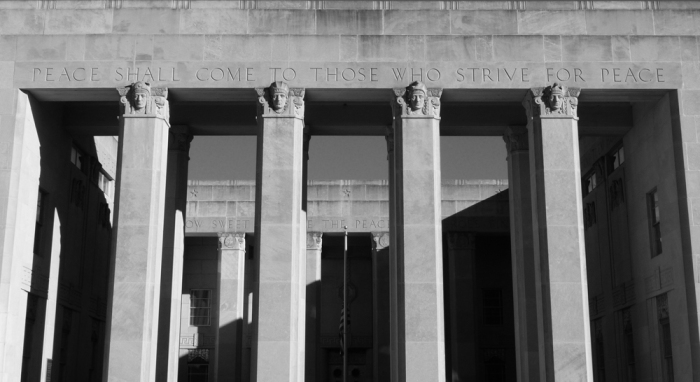 War Memorial Building, Jackson (1939-40, E.L. Malvaney, principal architect)