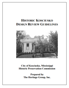 Kosciusko Design Review Guidelines