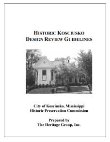 Kosciusko Design Review Guidelines