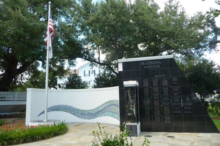 Mississippi Katrina Memorial. Biloxi MS 08-23-2015