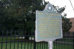 Mississippi landmark marker