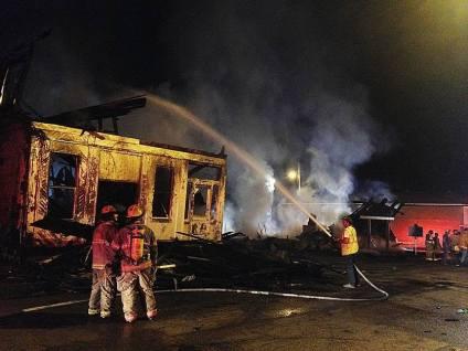 Port Gibson Fire