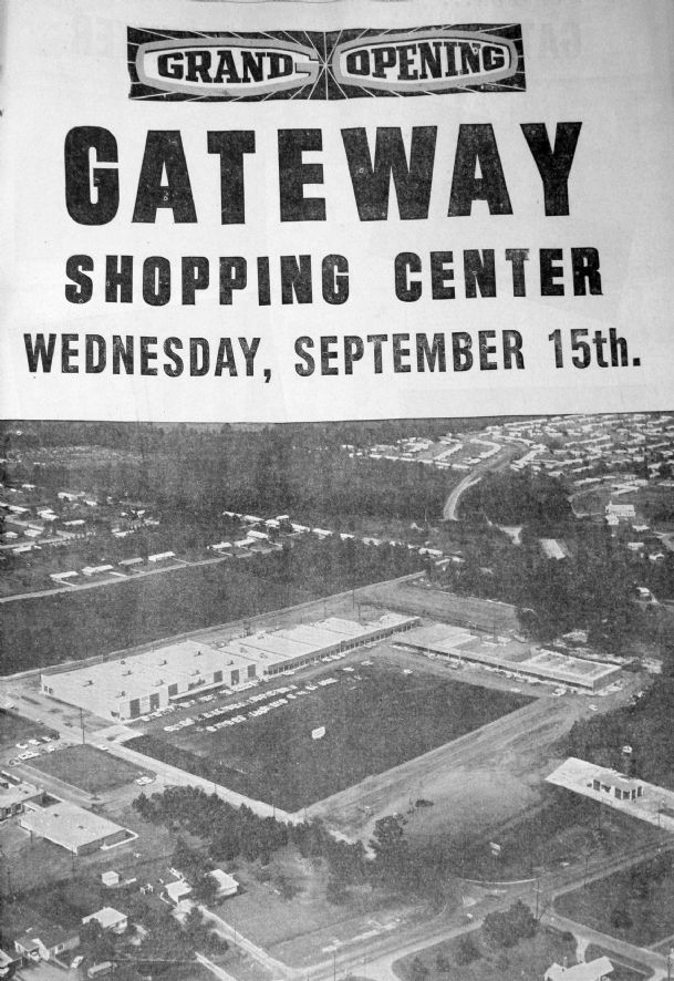 Columbus' Woolco opened Sept. 15, 1965. Photo from Columbus Dispatch