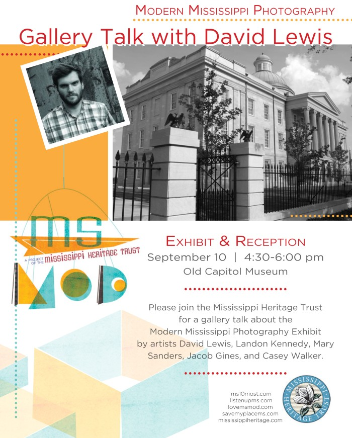 MHT - MS MOD Gallery Talk with David Lewis