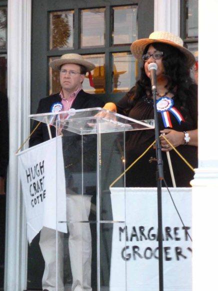 Margaret's Grocery presentation.