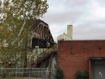 Damage Detail Eaton School Hattiesburg, Nov. 2015