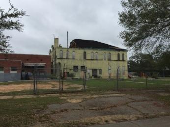 Damage Eaton School Hattiesburg, Nov. 2015