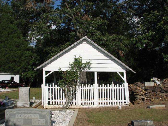 Goggans Cemetery Grave House, Marion County, AL