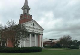 Mt. Carmel Baptist Church Hattiesburg, Nov. 2015 front