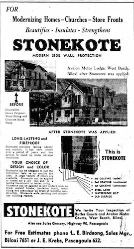 Avalon Motor Hotel StoneKote