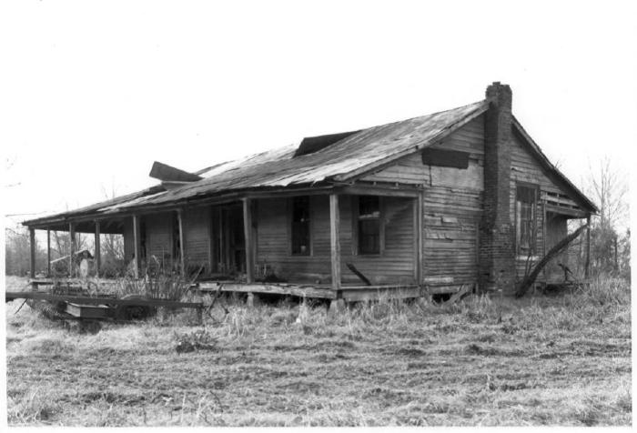 Donelson House, View from Northeast, 1976, National Register of Historic Places Photograph, William C. Allen Photographer
