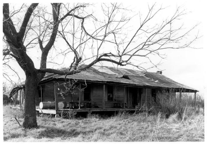 Donelson House, View from Southeast, 1976, National Register of Historic Places Photograph, William C. Allen Photographer