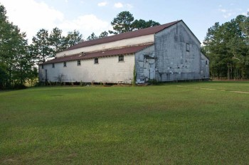 Zama Consolidated School's 1938 gymnasium in Attala County.