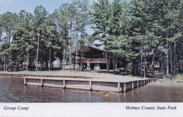 Group Camp--Holmes County State Park. Located near Durant, Holmes County State Park features water sports, fishing, camping, vacation cabins, roller skating, archery range, nature trails, and a group camp. HOLMES COUNTY STATE PARK, Durant, MS 39063. (601) 653-3351