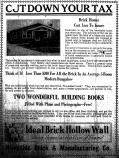 Ideal Brick Hollow Wall--Hattiesburg American March 2, 1925