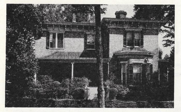 1940 Columbus Pilgrimage Page 22a - Hamilton Hall