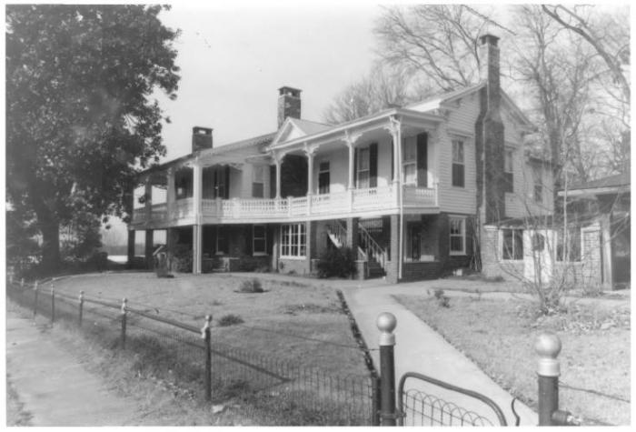 315 2nd Avenue, North, Factory Hill-Frog Bottom-Burns Bottom Historic District, Columbus - Kenneth P'Pool, MDAH, Photographer, December, 1979