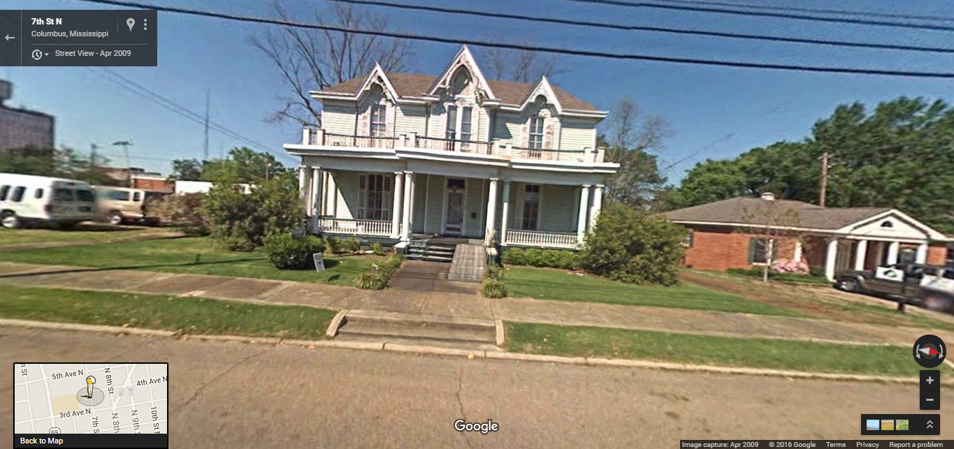 Victorian homes for sale in mississippi - 317 7th Street North Columbus Ms 2009 April