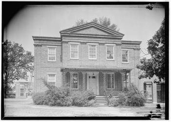 General Stephen D. Lee House, Columbus - Historic American Buildings Survey (HABS), James Butters, Photographer, June 18, 1936