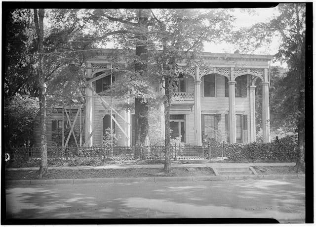 Weaver House (Errolton), Columbus - Historic American Buildings Survey (HABS), James Butters, Photographer, June 18, 1936