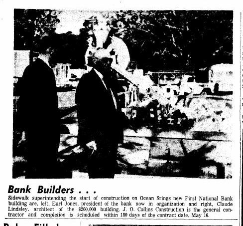 Lindsley 1968 First Natl Bank Biloxi Daily Herald 5-23-68