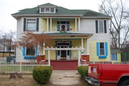 L. E. Roberts House Aberdeen Monroe County Jamie Destefano, History Incorporated 12-14-2014 from MDAH HRI accessed 4-1-2016
