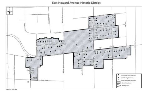 East Howard Ave Historic District