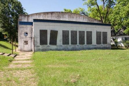 Gymnasium front elevation. Edwards High School Gymnasium