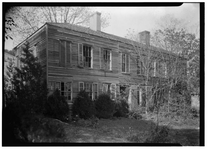 GENERAL REAR VIEW (SOUTHWEST ELEVATION) - Hope Farm (Villa), Auburn Avenue & Homochitto Street, Natchez, Adams County, MS. James Butters, Photographer April 8, 1936.