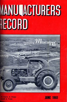 Manufacturer's Record 1951