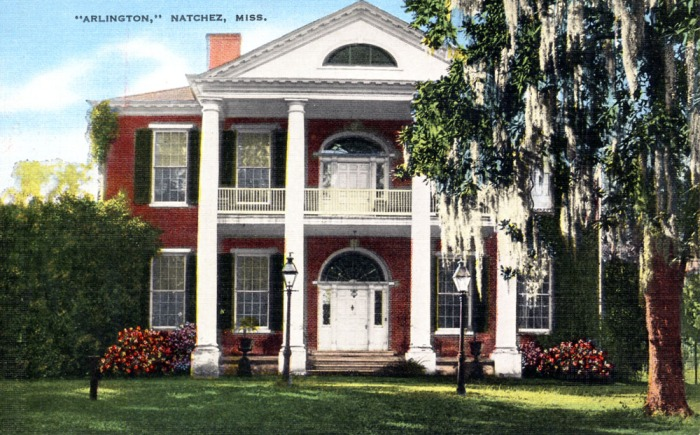 Built in 1816. It is a pure Southern Colonial type of brick construction with Tuscan columns and majestic fanlights over the carved doorways. Gothic bookcases in the library shelve some 8000 volumes including a collection purchased by Judge Boyd in England about 1840. Among the valuable collections of glass in America.
