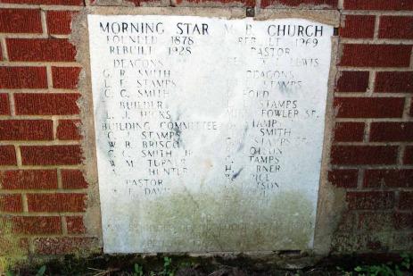 Morning Star M.B. Church, Hinds County
