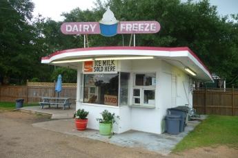 Dairy Freeze. Crystal Springs, Copiah Co. Miss August 2016