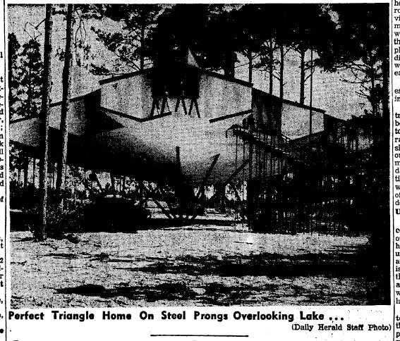 Gutman House Gulfport Harrison County by Daily Herald June 25, 1960