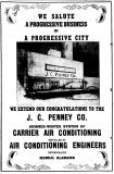 J C Penney Co Hattiesburg AC ad 1946