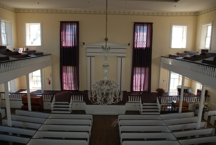 Oakland Chapel interior