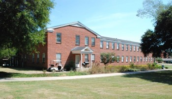 Eastside Dormitory (Williams Hall), Hinds Community College. Photo 8-4-2015 by Barry White, MDAH. Downloaded from MDAH Historic Resources Database.