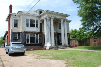 Merrill-Maley House, 735 N. State Street, Jackson. Photo by Barry White, MDAH, 5-14-2015, via MDAH Historic Resources Database