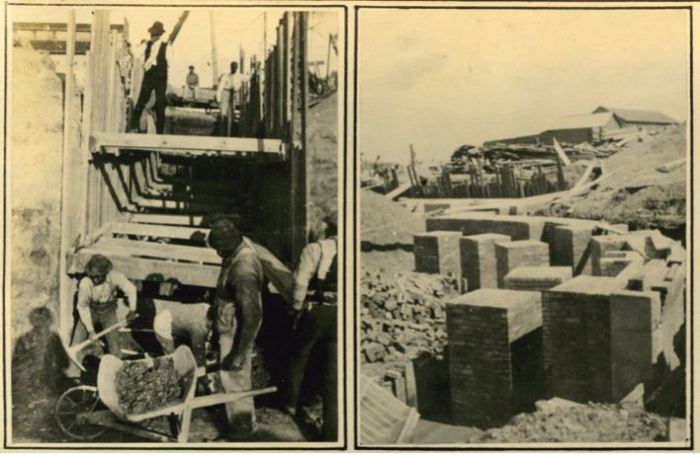 """New Capitol """"Scenes During Construction"""" from State House Commission Series 317: Photographs of New Capitol, MDAH."""