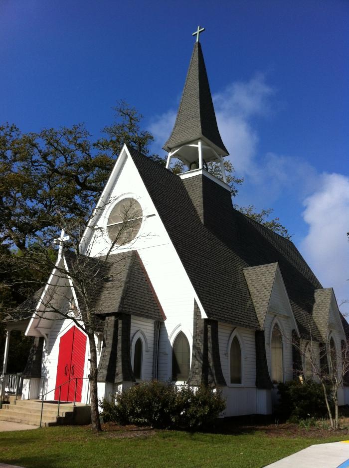 St. Johns Episcopal Church Ocean Springs, Mississippi 6-13-2012