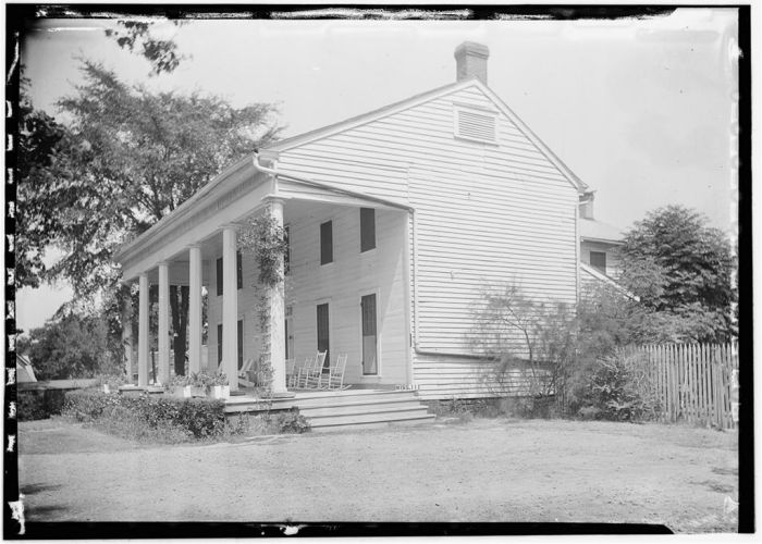 Northeast View, June 27, 1936. James Butters, HABS photographer.