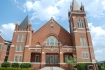 First Baptist Church, Columbus (built 1908, R.H. Hunt, archt.) Photo by Jennifer Baughn, MDAH, 4-10-2009
