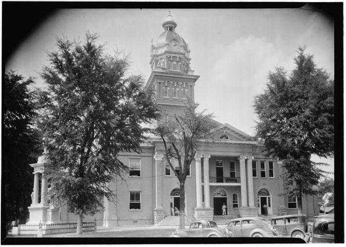 General View of Front, June 10, 1936. James Butters, HABS photographer.